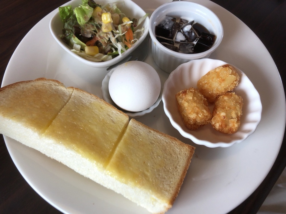 アミューズカフェ バタートーストモーニング