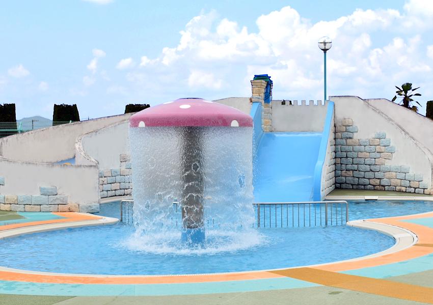 坂祝町民ふれあいプールの幼児用プール
