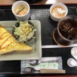 道の駅「美濃にわか茶屋」のレストランでのんびりモーニング