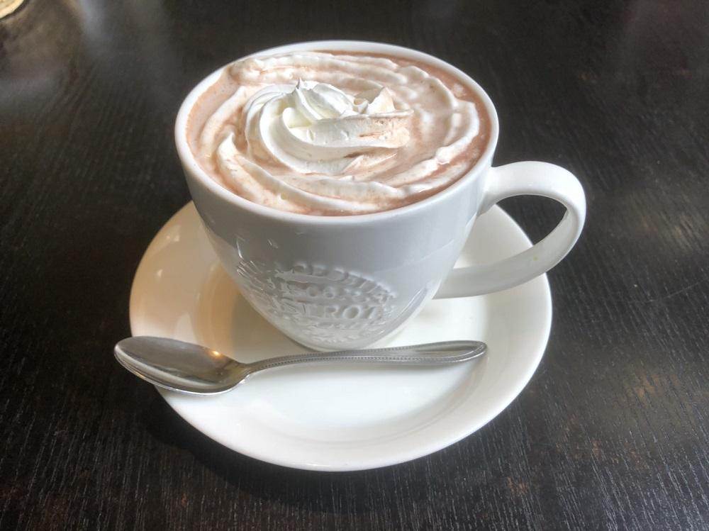 喫茶 ユートピアのココア