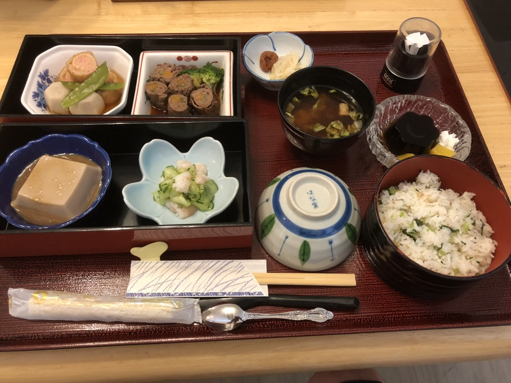 関中央病院のお昼ご飯
