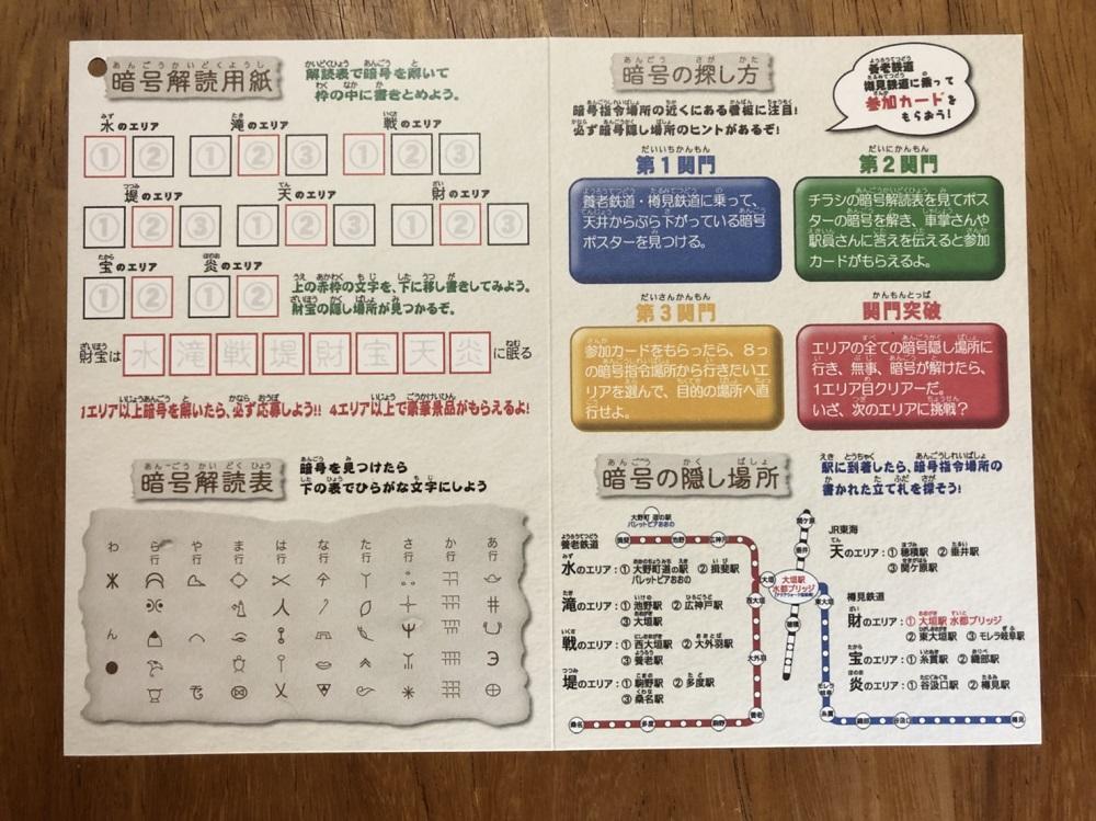 忍者電車でGO! の参加カード