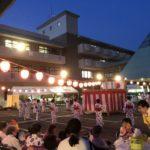 花火もあがる「ほほえみ夏祭り」inほほえみ福寿の家