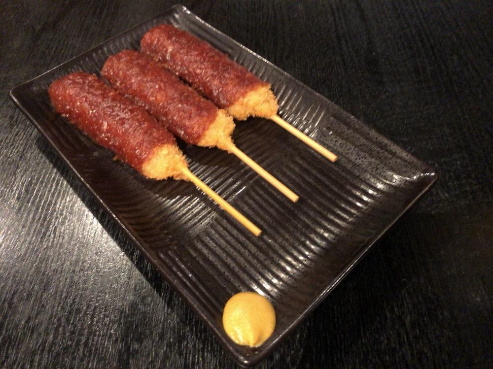 旗籠家 緑店の味噌串カツ