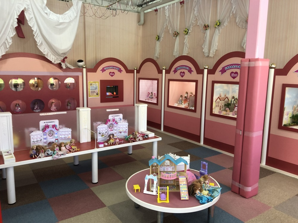 おもちゃの王国のリカちゃんハウス