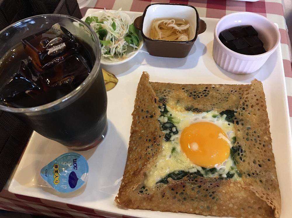 cafe Noah(カフェ ノア)のガレットモーニング