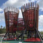 ぎふ清流里山公園の大樹の遊具がオープン