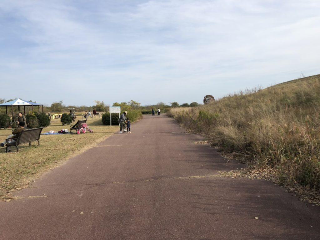 かさだ広場 サイクリング