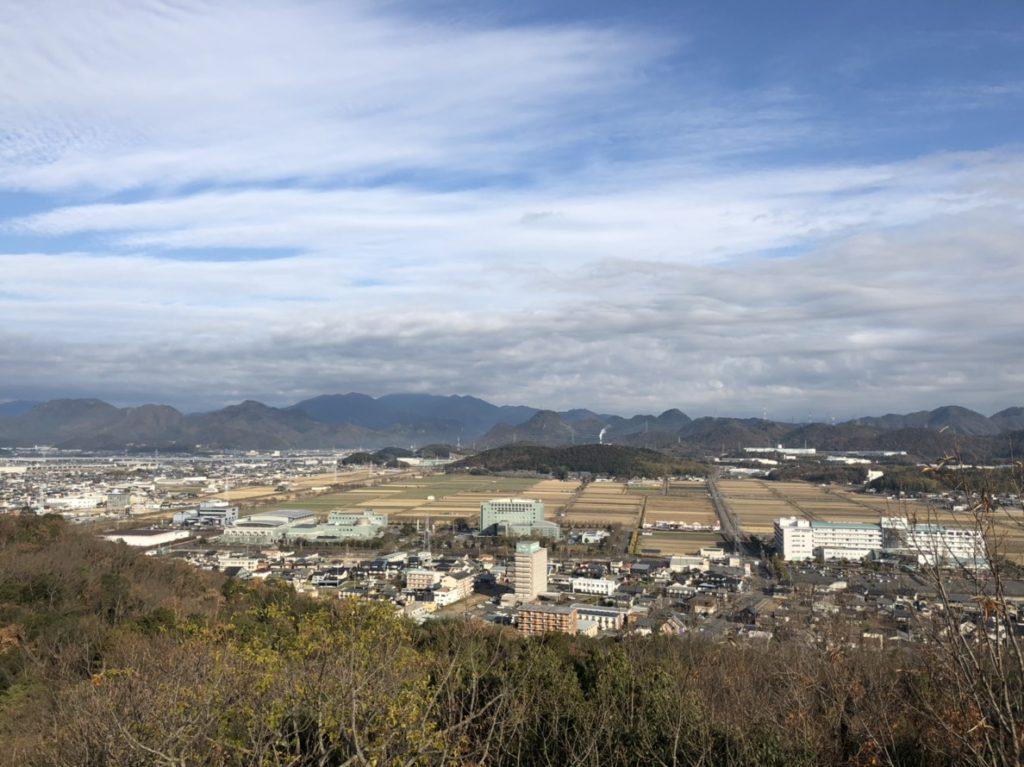 安桜山展望台からの景色 北側