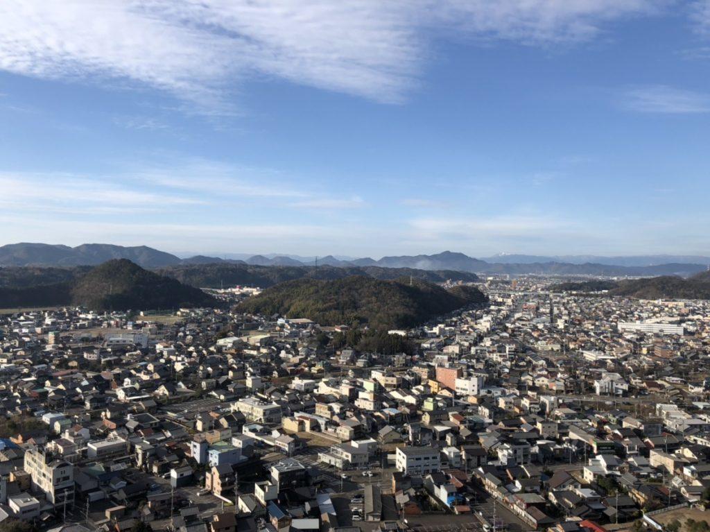 安桜山展望台からの景色