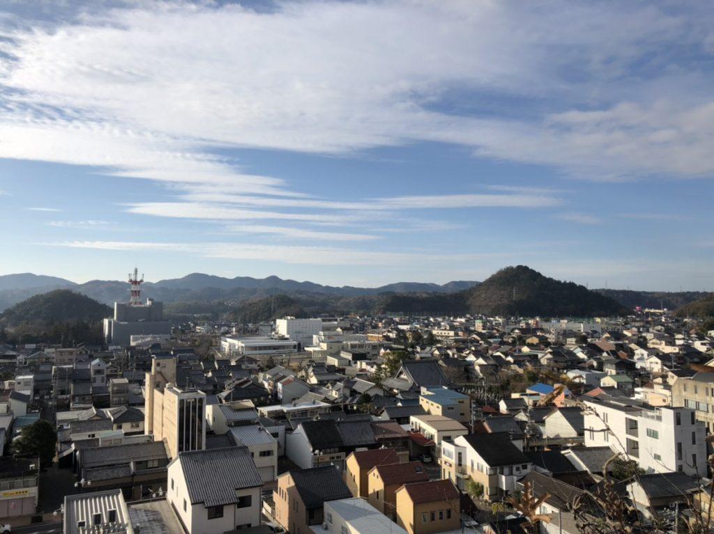 安桜山公園景色