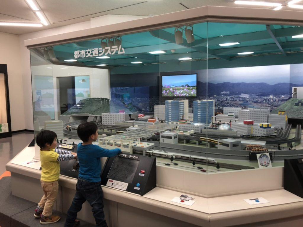岐阜市科学館の都市交通システム