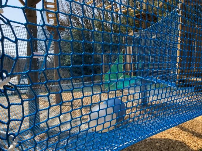 ぎふ清流里山公園 スカイジャムのネット