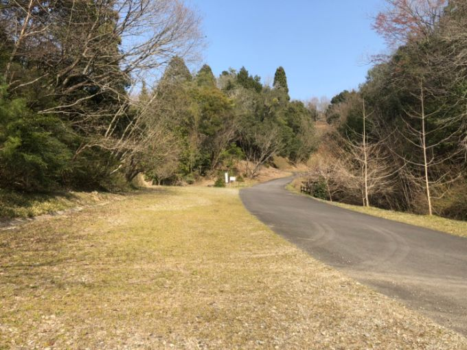 美濃加茂健康の森公園の第3駐車場