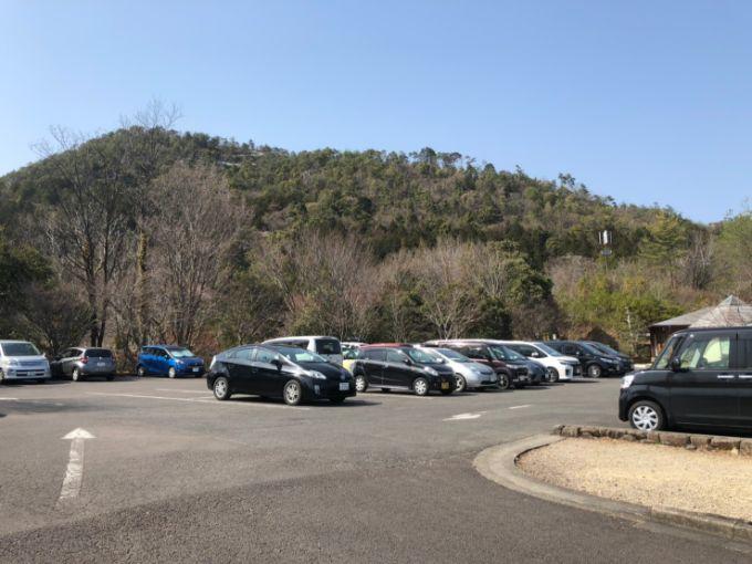 美濃加茂健康の森公園の第1駐車場