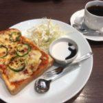 珈琲工房ひぐち 桜町本店の選べるトーストモーニング