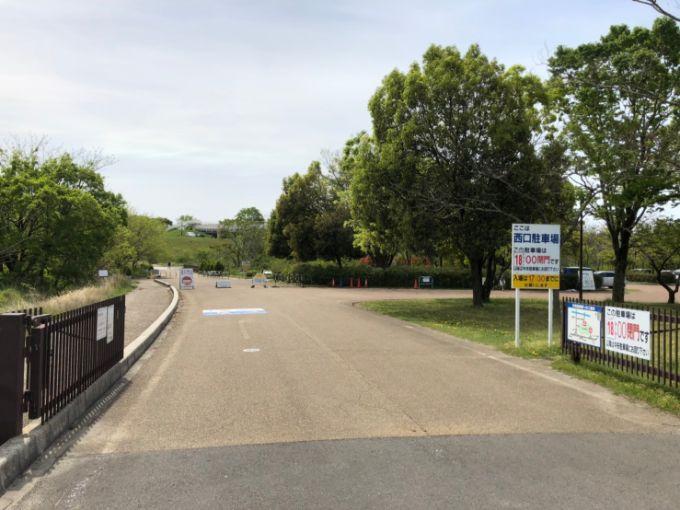 河川環境楽園(オアシスパーク) 西口駐車場