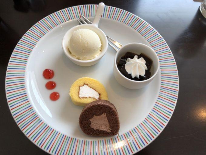 カントリーカフェ Meri Mero(メリメロ)のプチケーキモーニング