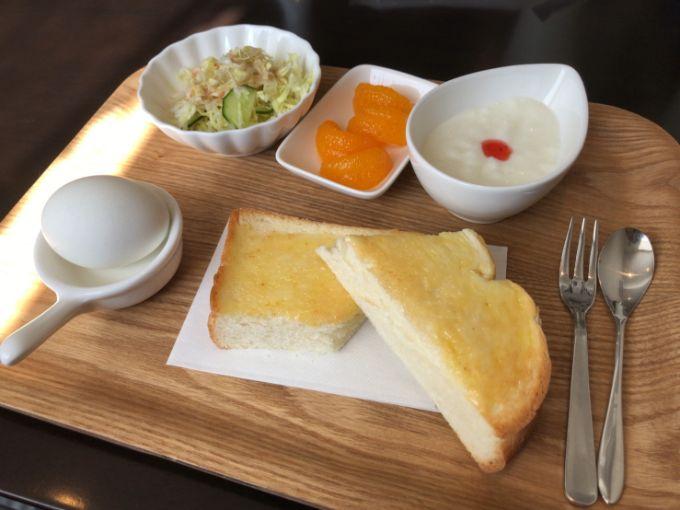 カントリーカフェ Meri Mero(メリメロ)のトーストモーニング