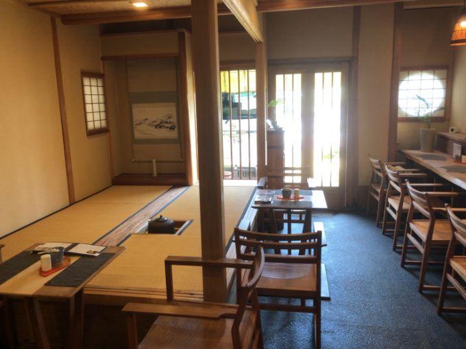 和風喫茶 茶房 鵜衛門の茶室
