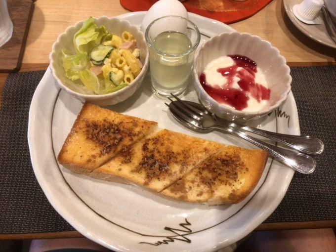 鵜衛門のシナモンシュガートースト