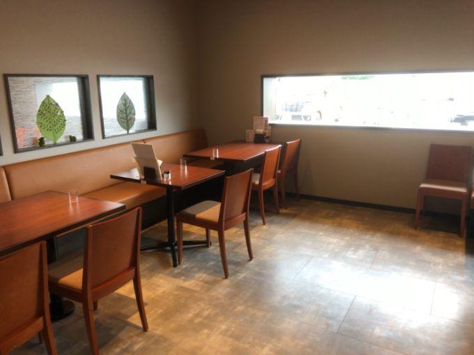 MOON-GA CAFEの喫煙室