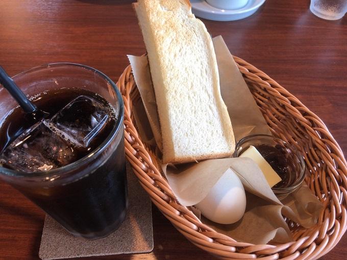 MOON-GA CAFEのトーストモーニング