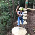岐阜百年公園で5歳から遊べるツリートップアドベンチャー「冒険の森 せき」