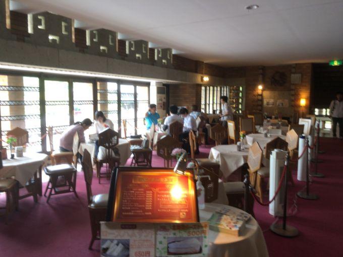 明治村の帝国ホテル喫茶室