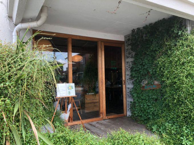 cafe HIFUMIの外観