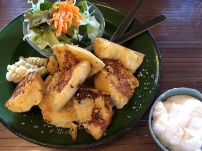 cafe HIFUMIのフレンチトーストモーニング