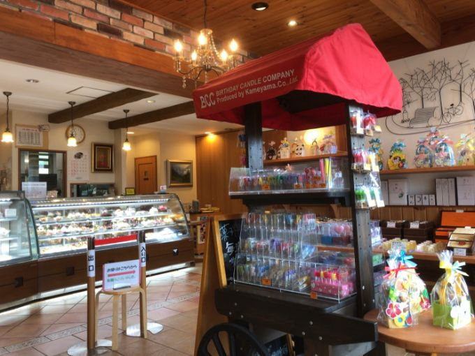 菓子畑の店内