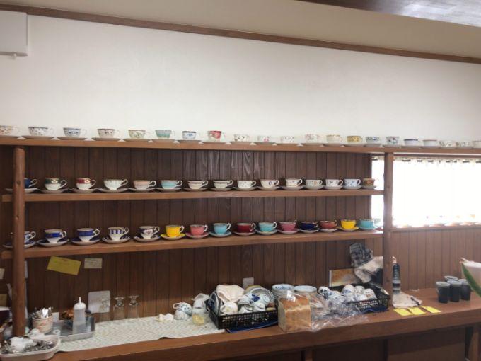 風のカフェのカップ