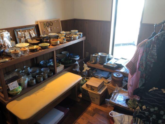 風のカフェの雑貨