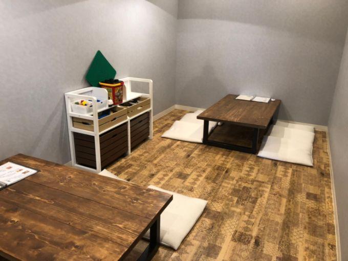 Makapu'u cafe(マカプー カフェ)のキッズルーム