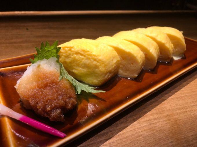 出汁巻き玉子(640円)
