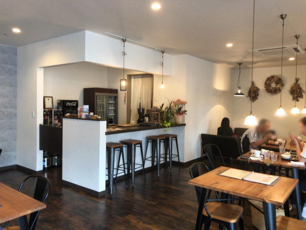 Makapu'u cafe(マカプー カフェ)の店内