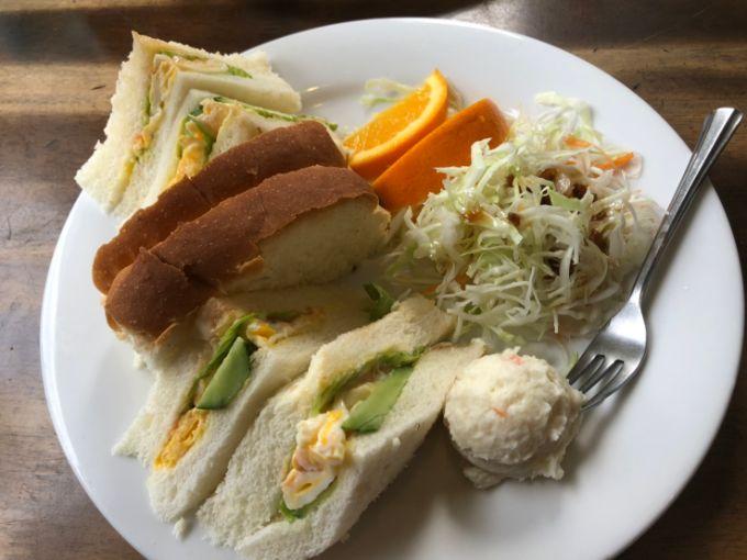 明治村近くの五条のサンドイッチモーニング
