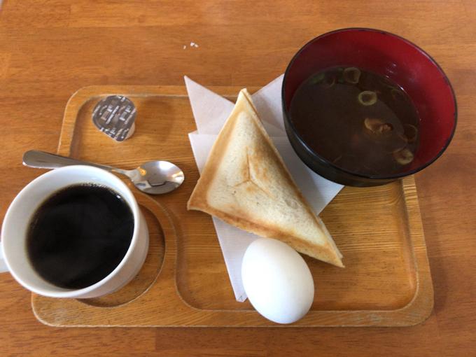 喫茶PUCHI(プチ)のモーニング