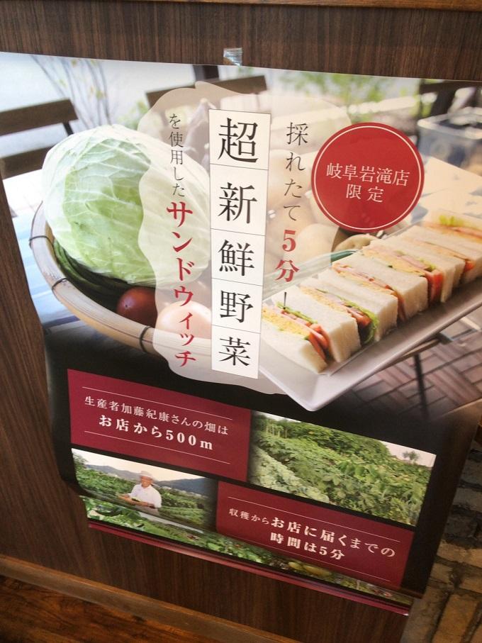 サンドイッチのポスター