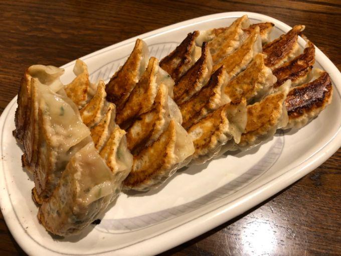 餃子飯店パンダの餃子
