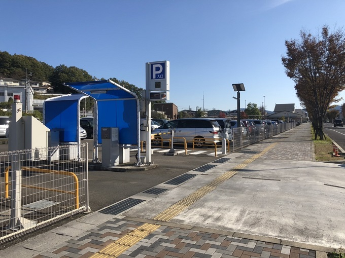 関シティーターミナル駐車場