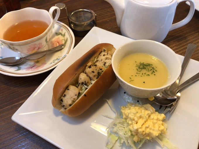 COFFEE&KITCHEN MINAMIのスープモーニング