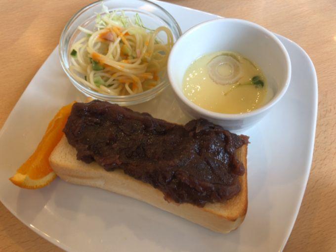 香蔵珈琲店の小倉トーストモーニング
