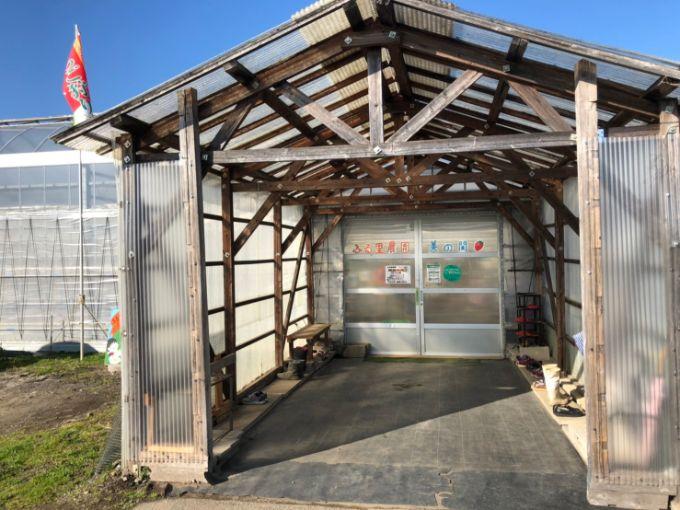 ふるさと農園のいちごハウス