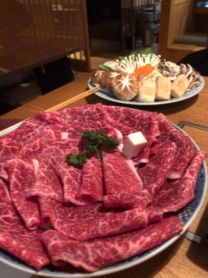 すき焼き田中のすき焼き用お肉