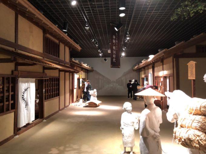 岐阜歴史博物館の楽市楽座