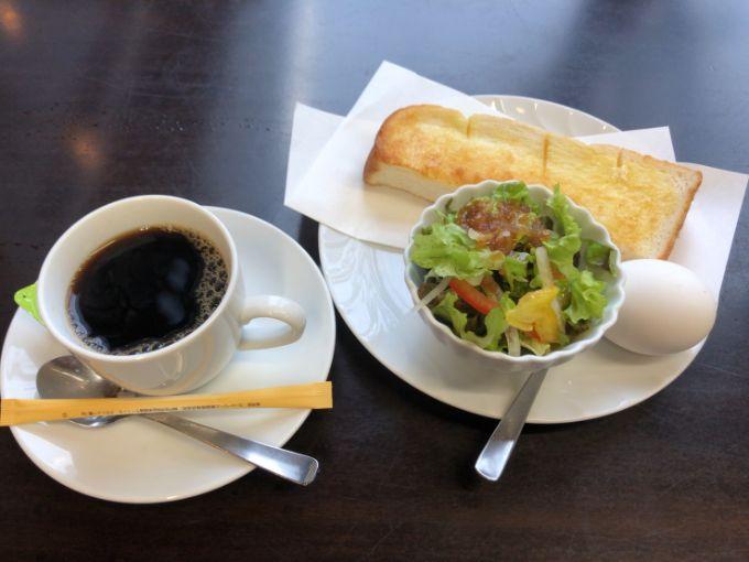 カフェ ほんわかのモーニング