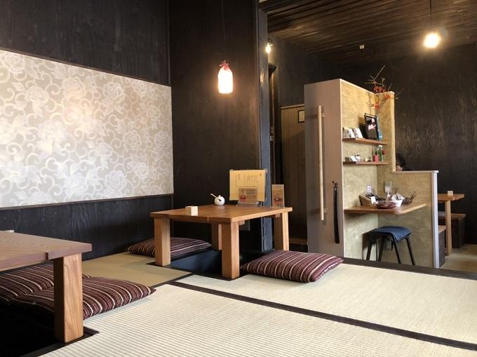 カフェ・茶房 宗休の座敷席