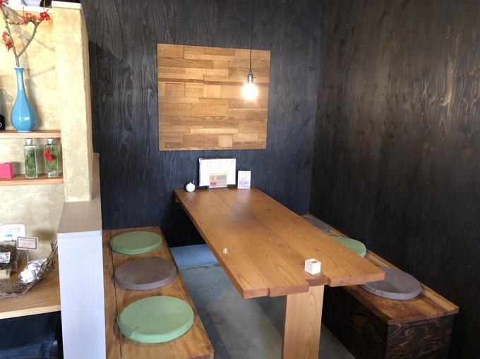 カフェ・茶房 宗休のテーブル席
